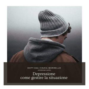 vivere accanto alla depressione